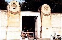 Кладбище Пер-Лашез: вход