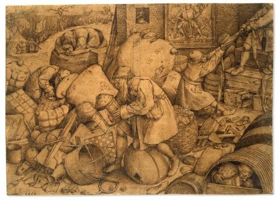 Питер Брейгель Старший. Обыватель. (1558)